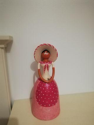 Muñeca cerámica artesanal