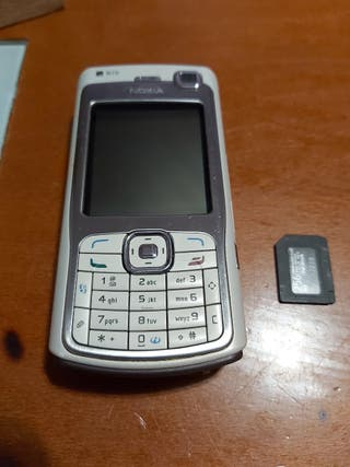 Nokia N70 Como nuevo + tarjeta