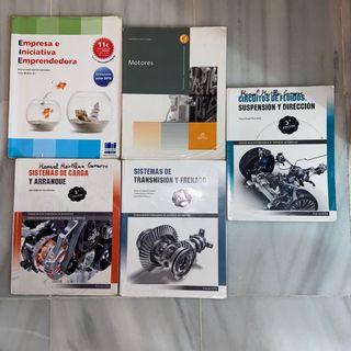 Libros de automoción, electromecanica