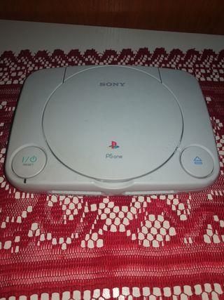 consola Sony ps one solo la consola sin mandos