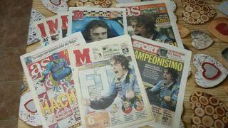 periódicos antiguos de Deportes