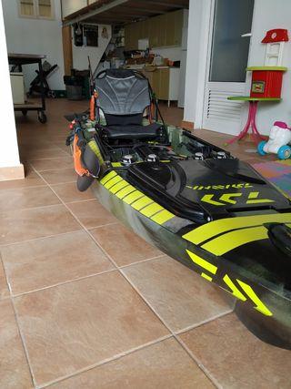 kayak pesca de remo Fuerteventura