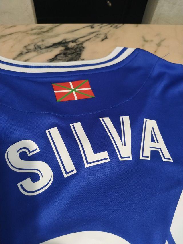 Camiseta David Silva 20-21 XL