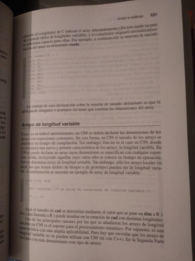 Manual programación lenguaje C