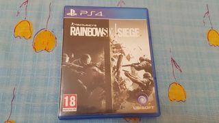 juego ps4 raimbow six siege