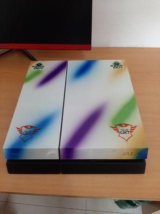 Ps4 500g personalizada +2 mandos y 3 juegos.