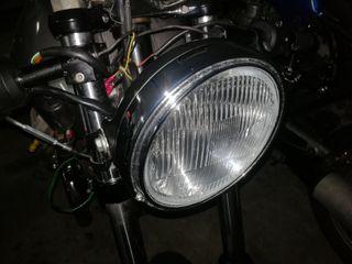 Faro moto homologado