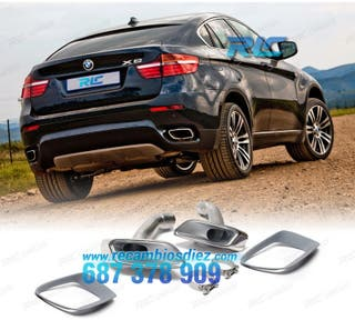 COLAS DE ESCAPE BMW X6 E71 LOOK M