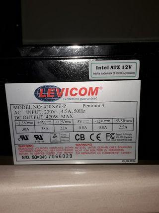 fuente de alimentación Levicom