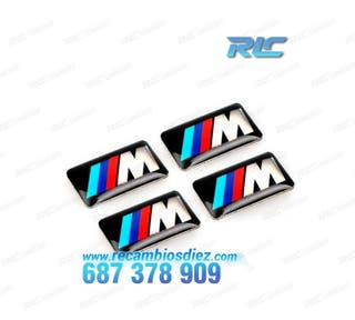 PACK DE 4 ADHESIVOS M PARA BMW