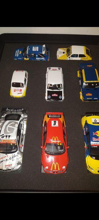 Colección coches scalextric