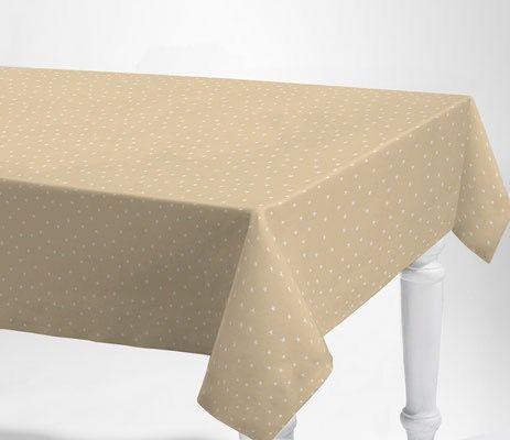 Mantel tela resinada BEIGE STAR 12€/mt lineal