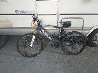 bicicleta de hombre y mujer
