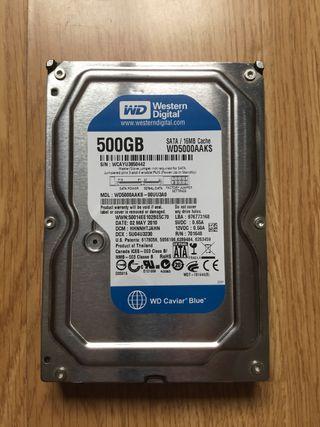Disco duro SATA 500 Gb