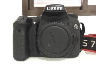 Cuerpo de cámara reflex Canon 70D