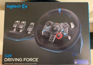 Logitech G29 + Mod Volante Mercedes F1 + PlaySeat