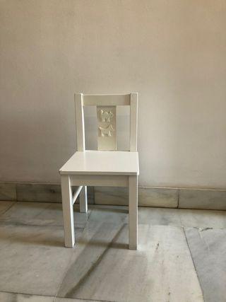 Mesa Pupitre + silla Ikea