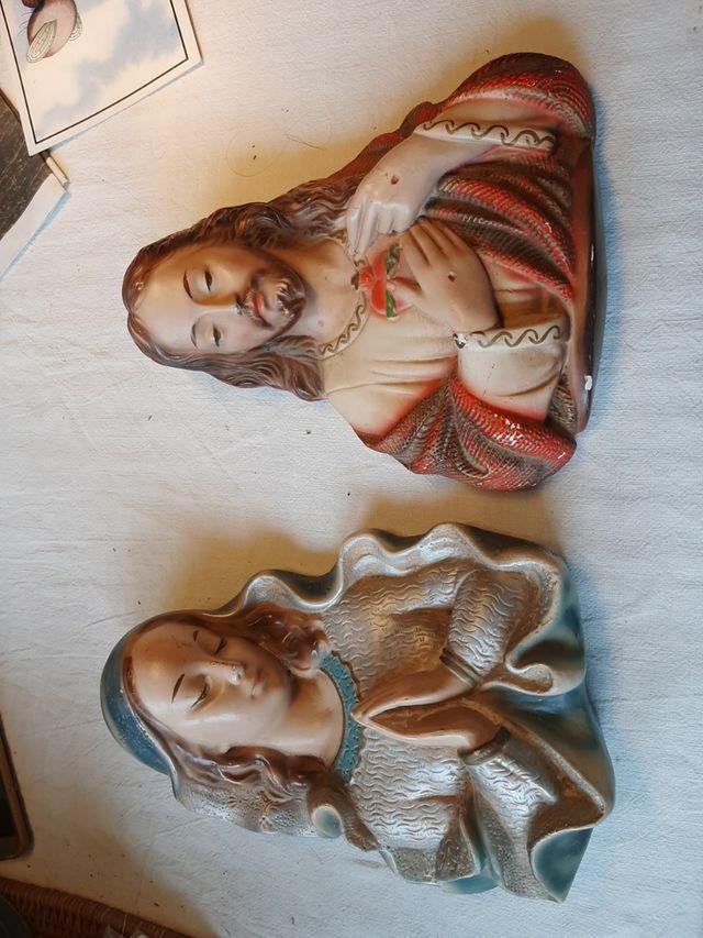 virgen maria y jesus