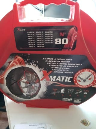 Cadenas de nieve Xmatic para diferentes neumáticos