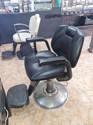 sillones de barbero