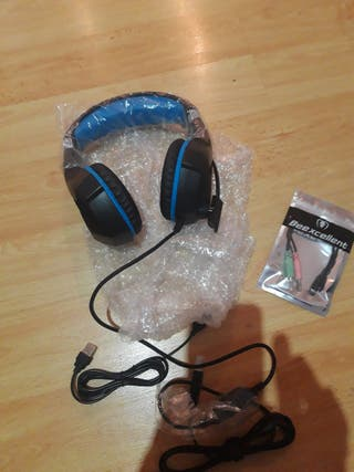 """auriculares """"beexcellent pro gaming headset""""."""