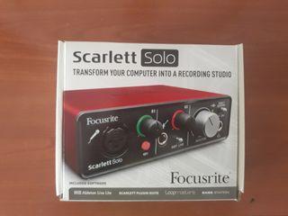 Focusrite Scarlett Solo
