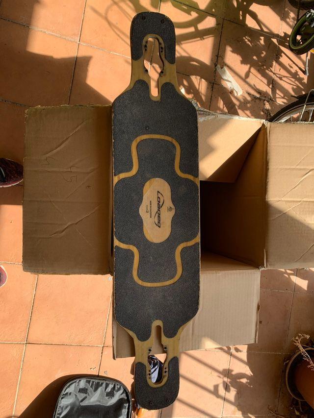 Tabla longboard californiana