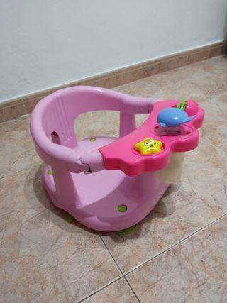 Asiento baño infantil