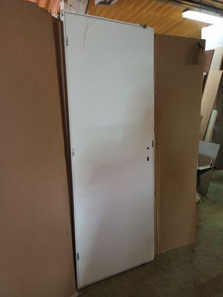 puerta lacada lisa