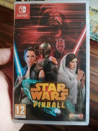 Star Wars Pinball. Nintendo Switch precintado