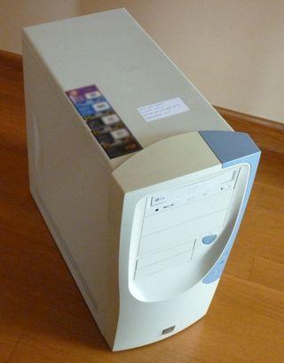 Caja torre ATX con fuente de 400W y lector DVD