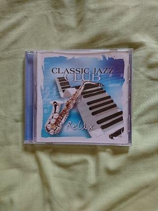 """disco, cd """"classic jazz club"""""""
