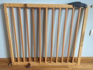 Barrera escalera protección extensible