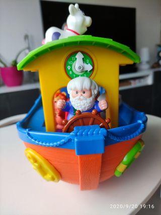 Arca de Noé musical y torre apilable