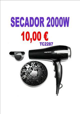 SECADOR 200 W CON DIFUSOR