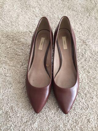 Zapatos de tacón de Zara