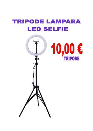 TRIPODE PARA LAMPARA LED SELFIE
