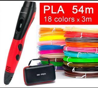 Pluma/Bolígrafo 3D PLA/ABS