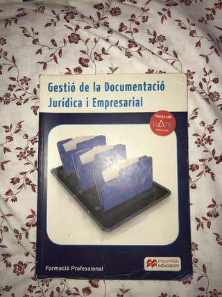 Gestió de la Documentació jurídica i empresarial