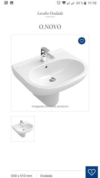 Lavabo de baño Villeroy & Boch nuevo