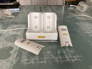 Cargador y baterías mandos Wii