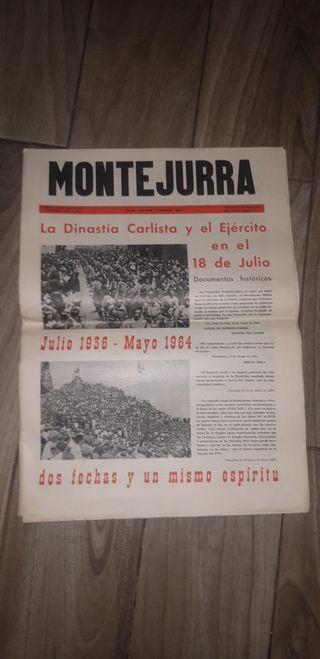 el periódico de carlista montejurra 1964