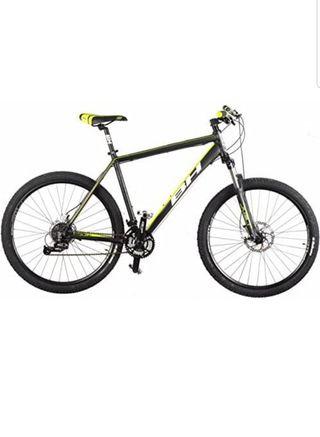 bicicleta de mtb BH SPIKE27.5 6.1 negro y amarillo