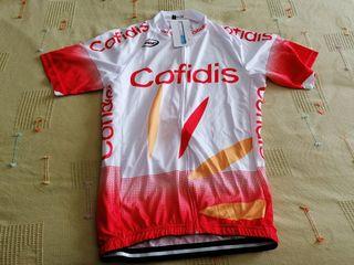 Equipacion ciclismo Cofidis