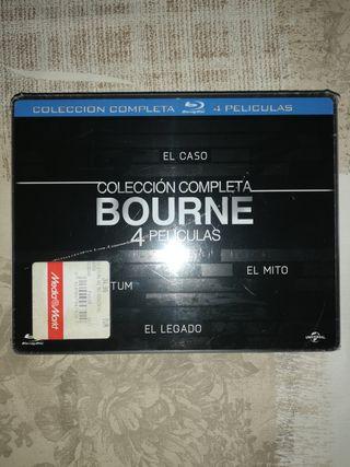 colección completa Bourne Blu-ray