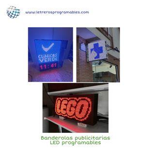 Rotulos electrónicos LED programables