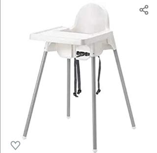 Trona Ikea con bandeja