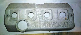 Tapa balancines culata Renault Alpine
