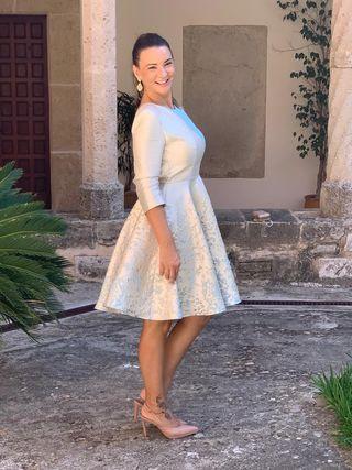 Vestido fiesta silvia Navarro