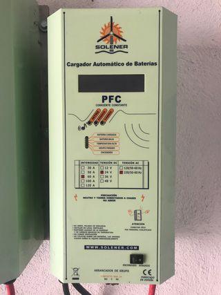 Cargador de baterías solares SOLENER